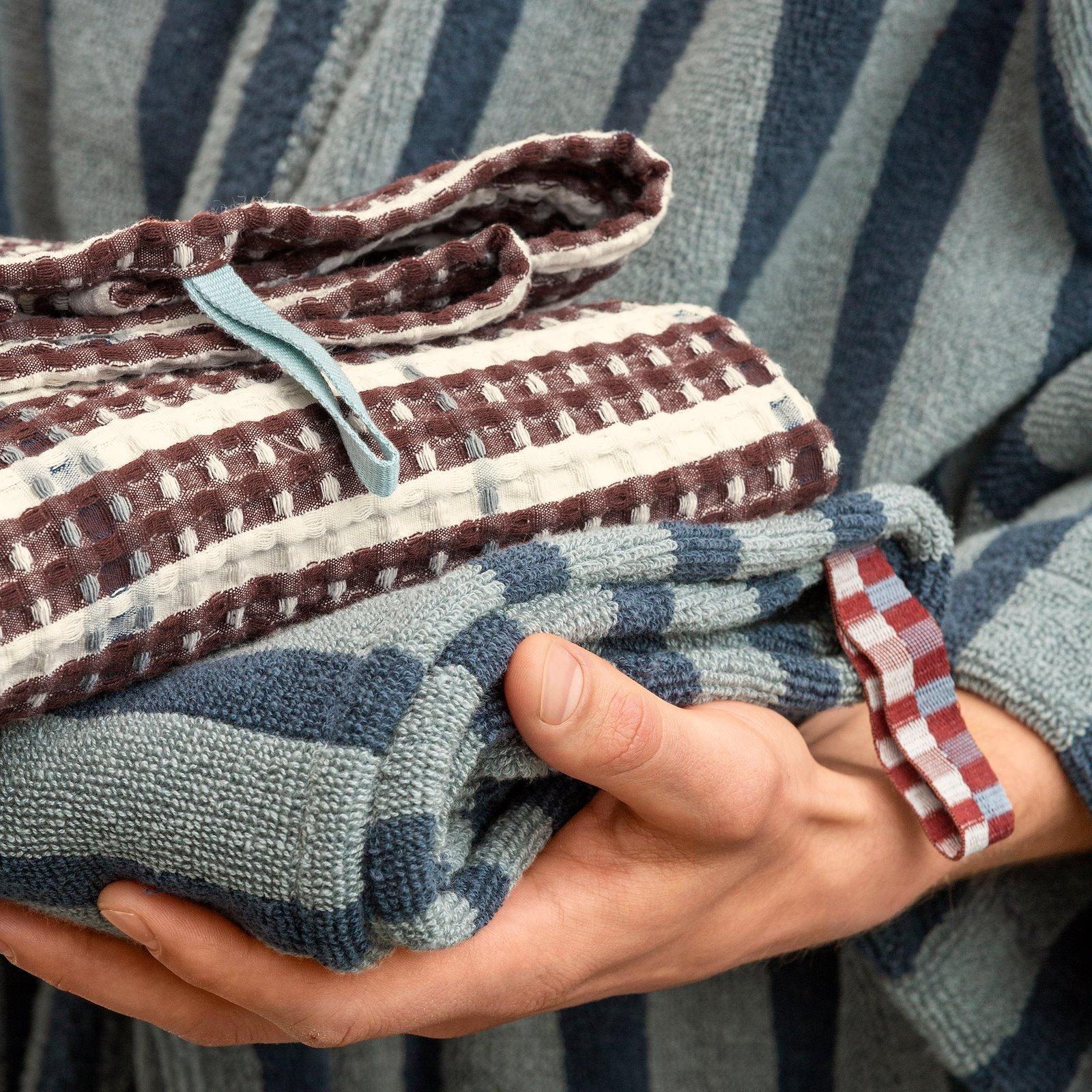 Woven jacquard YD brown/white stripes 501899_250756_22313_22398_bundle