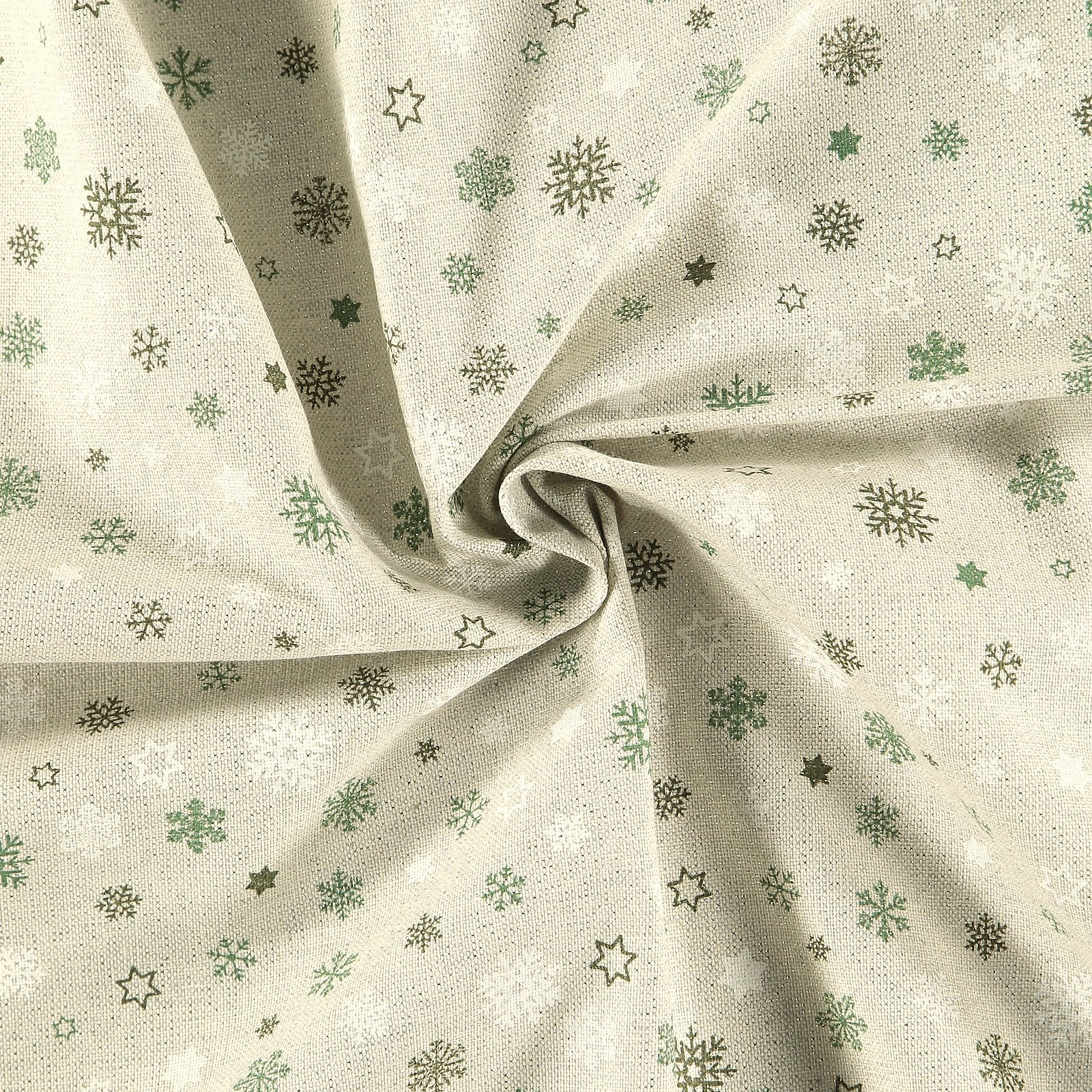 Woven nature w silver lurex / snowflakes 895946_pack