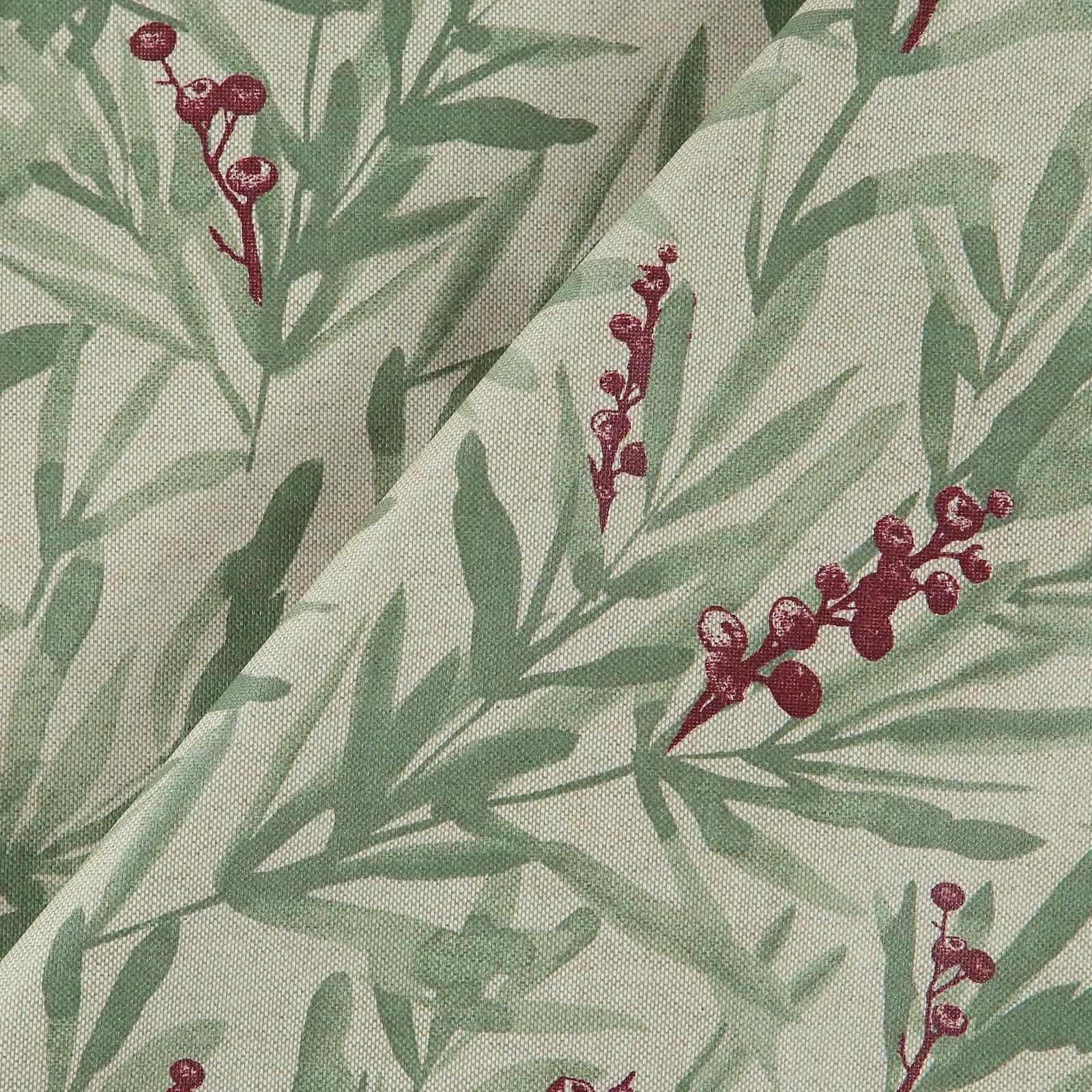 Woven oilcloth linenlook w berries 872308_pack