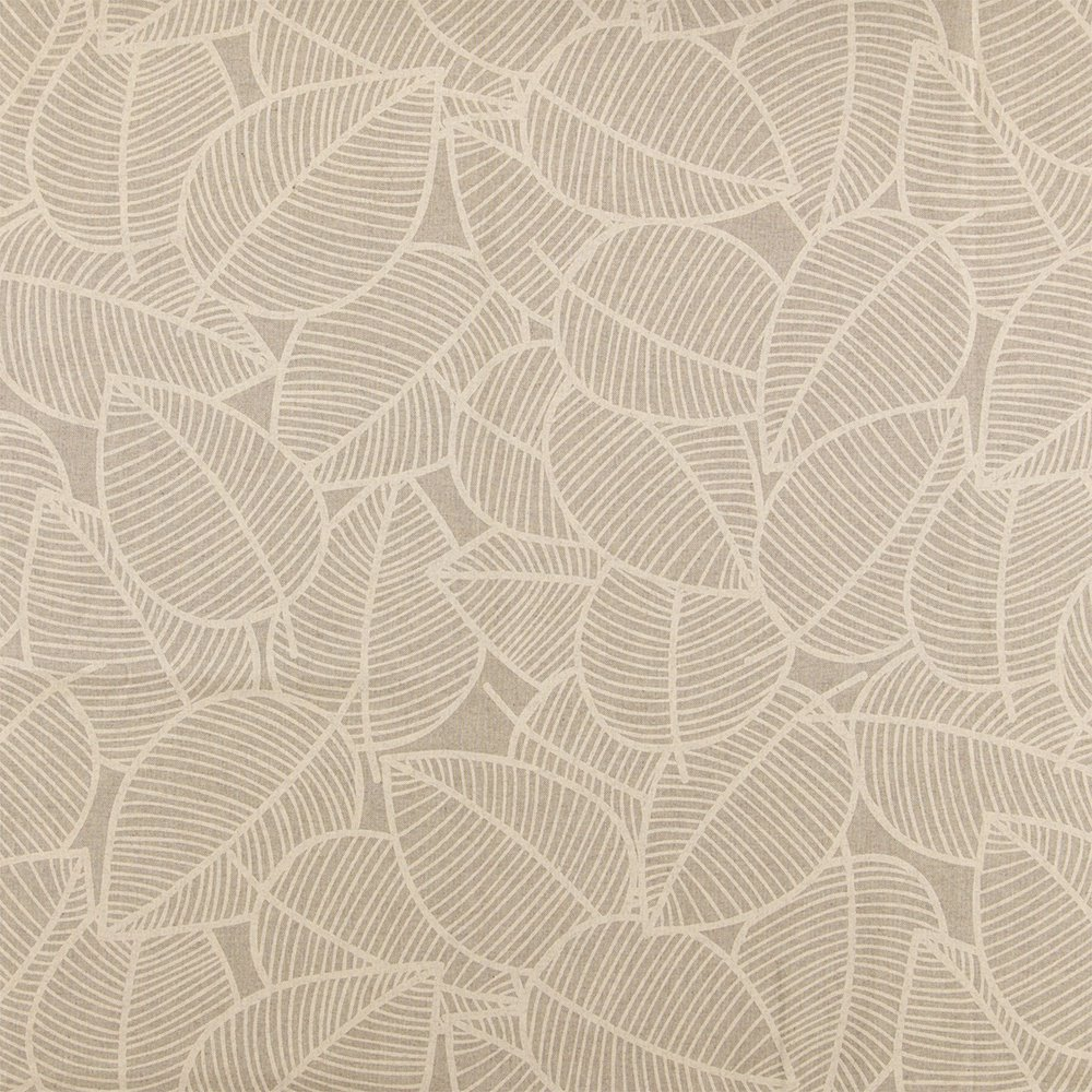 Woven oilcloth linenlook w sand leaves 870273_pack_sp