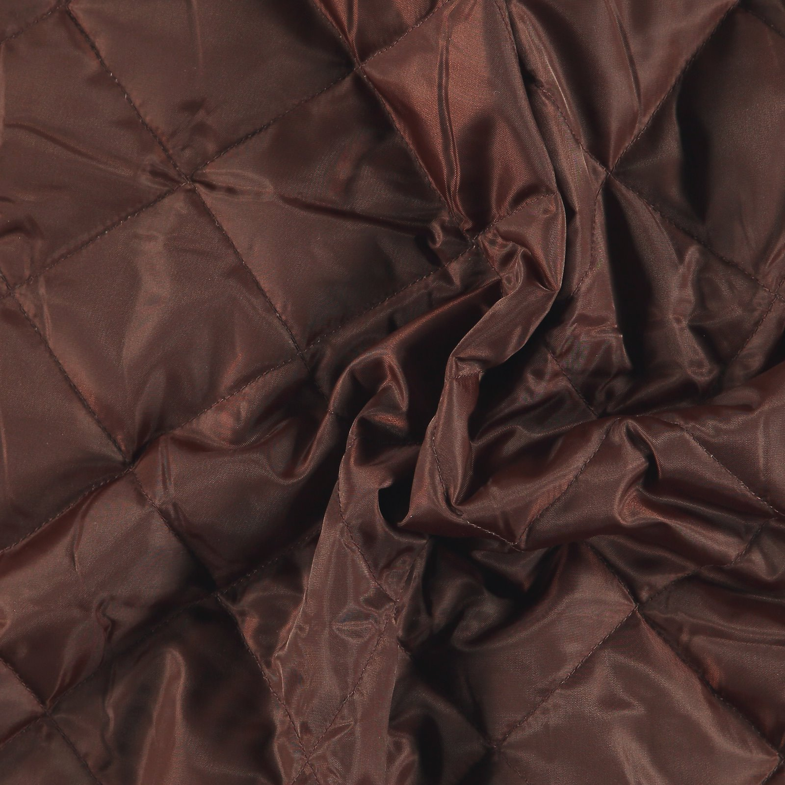 Woven quilt chestnut brown with lining 920234_pack