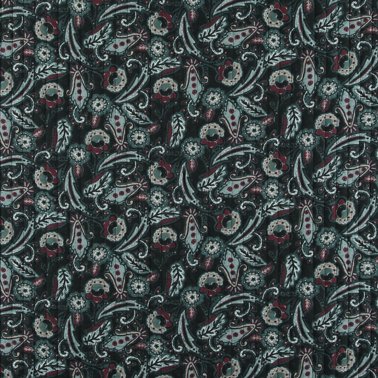Woven quilt with paisley 2-side print 920239_pack_sp