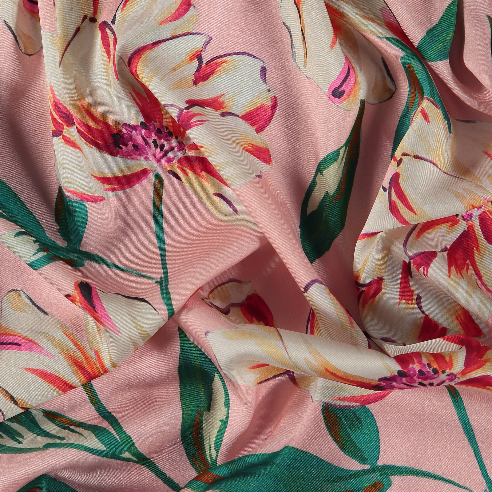 Woven satin rose with big flowers 570091_pack