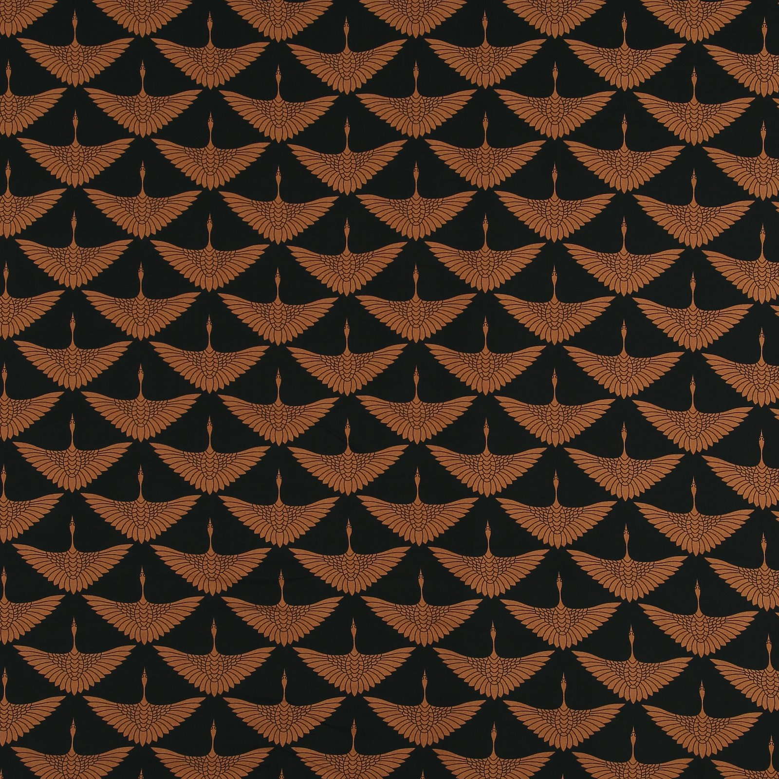Woven viscose black with camel crane 710607_pack_sp