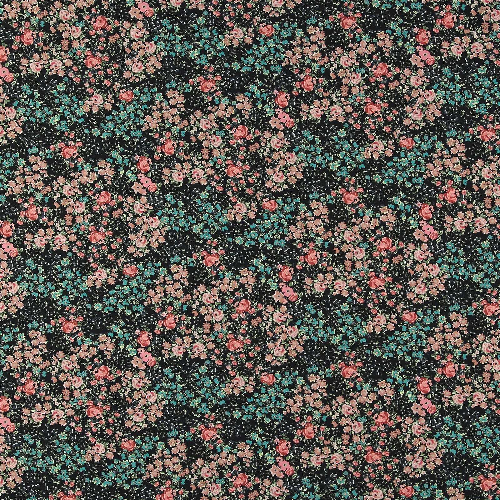 Woven viscose black with rose flowers 710658_pack_sp