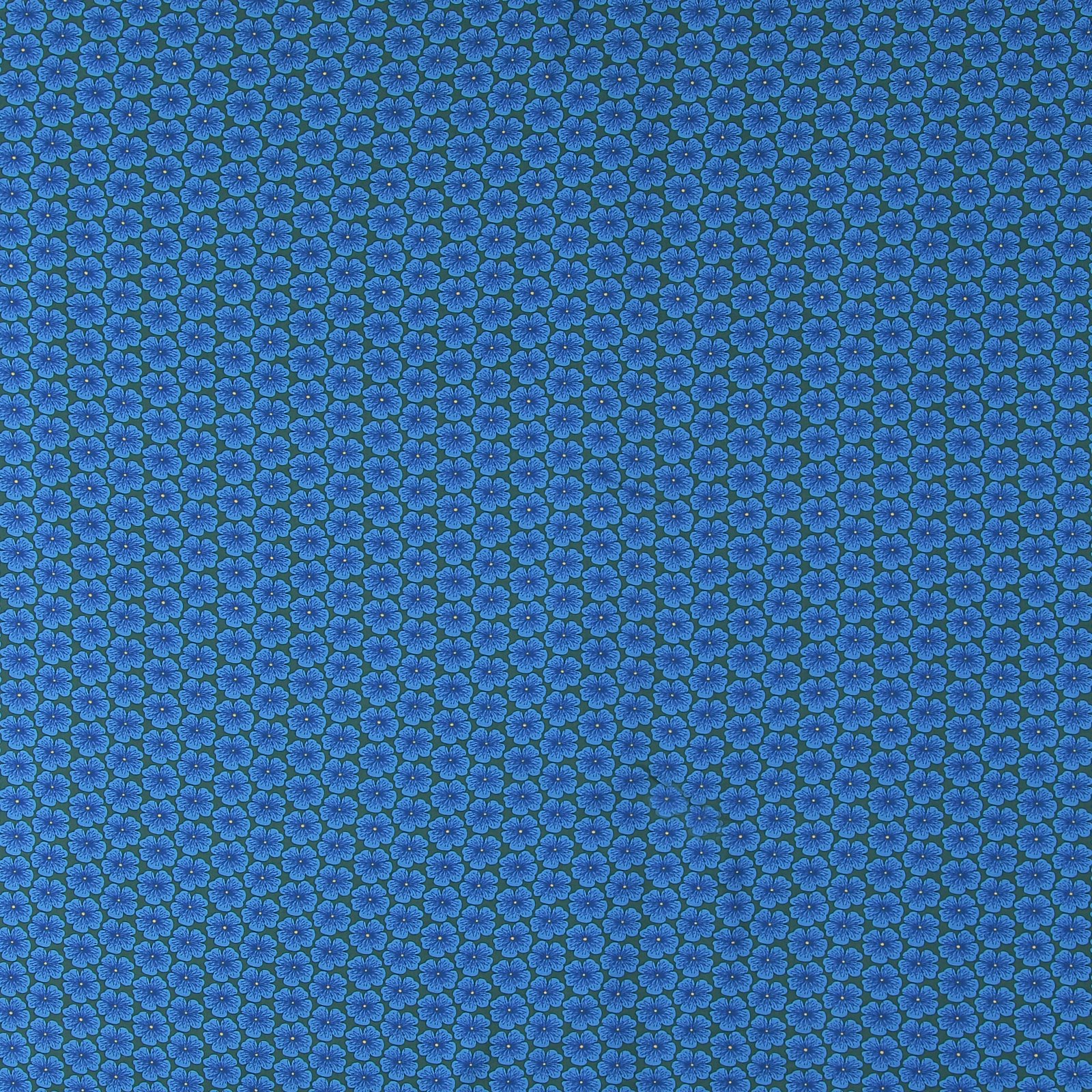 Woven viscose blue with flowers 710610_pack_sp