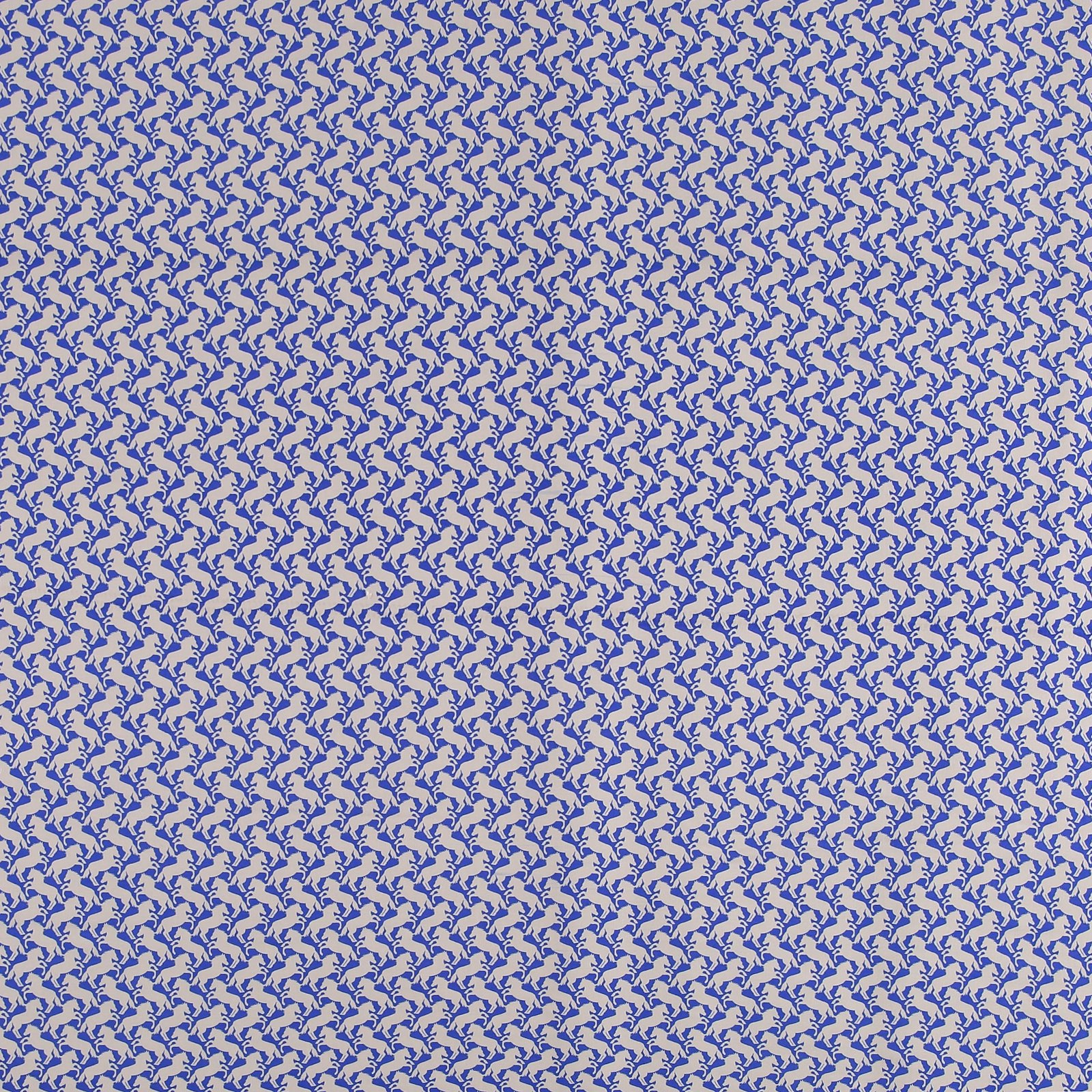 Woven viscose blue with horses 710024_pack_sp