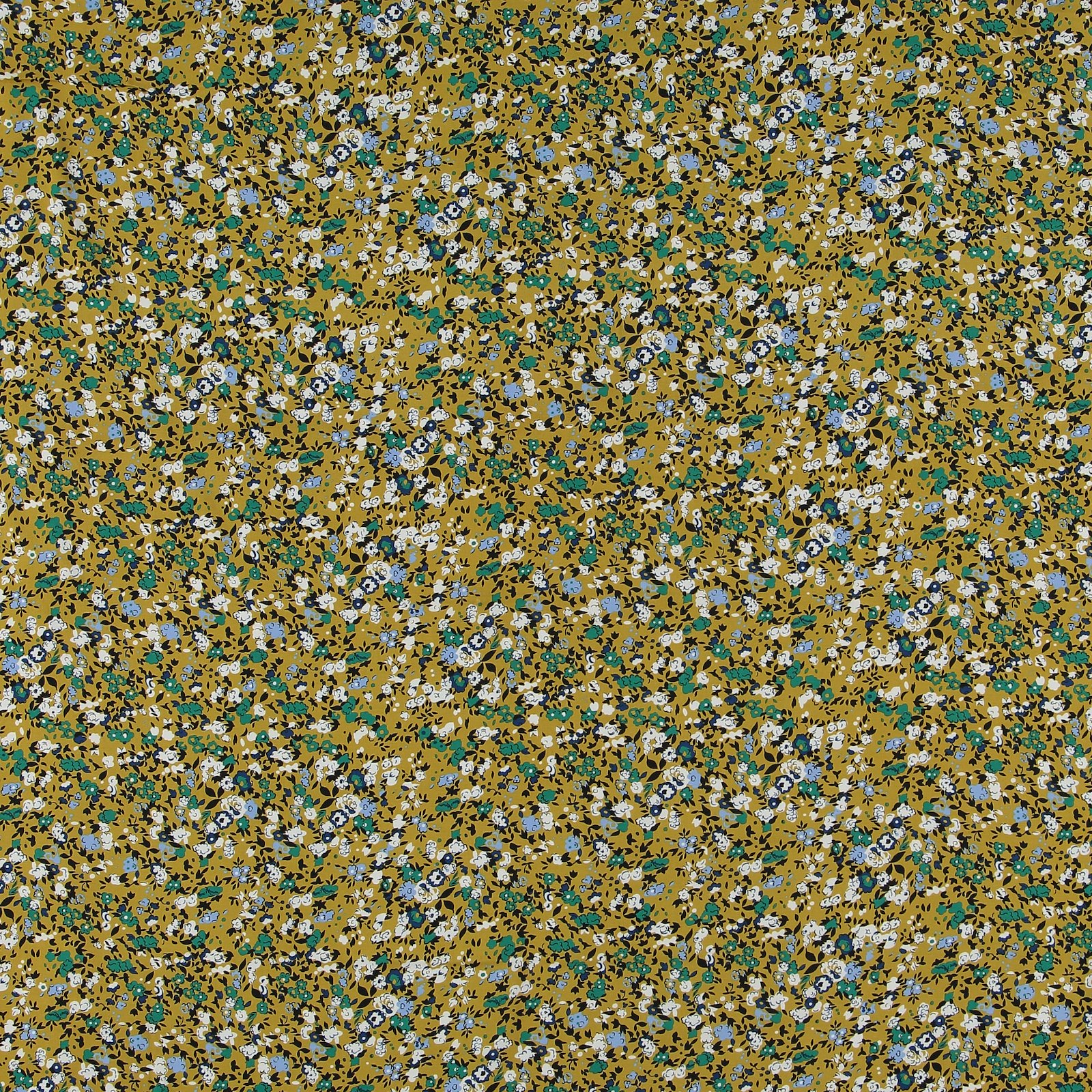 Woven viscose curry with petite flowers 710538_pack_sp
