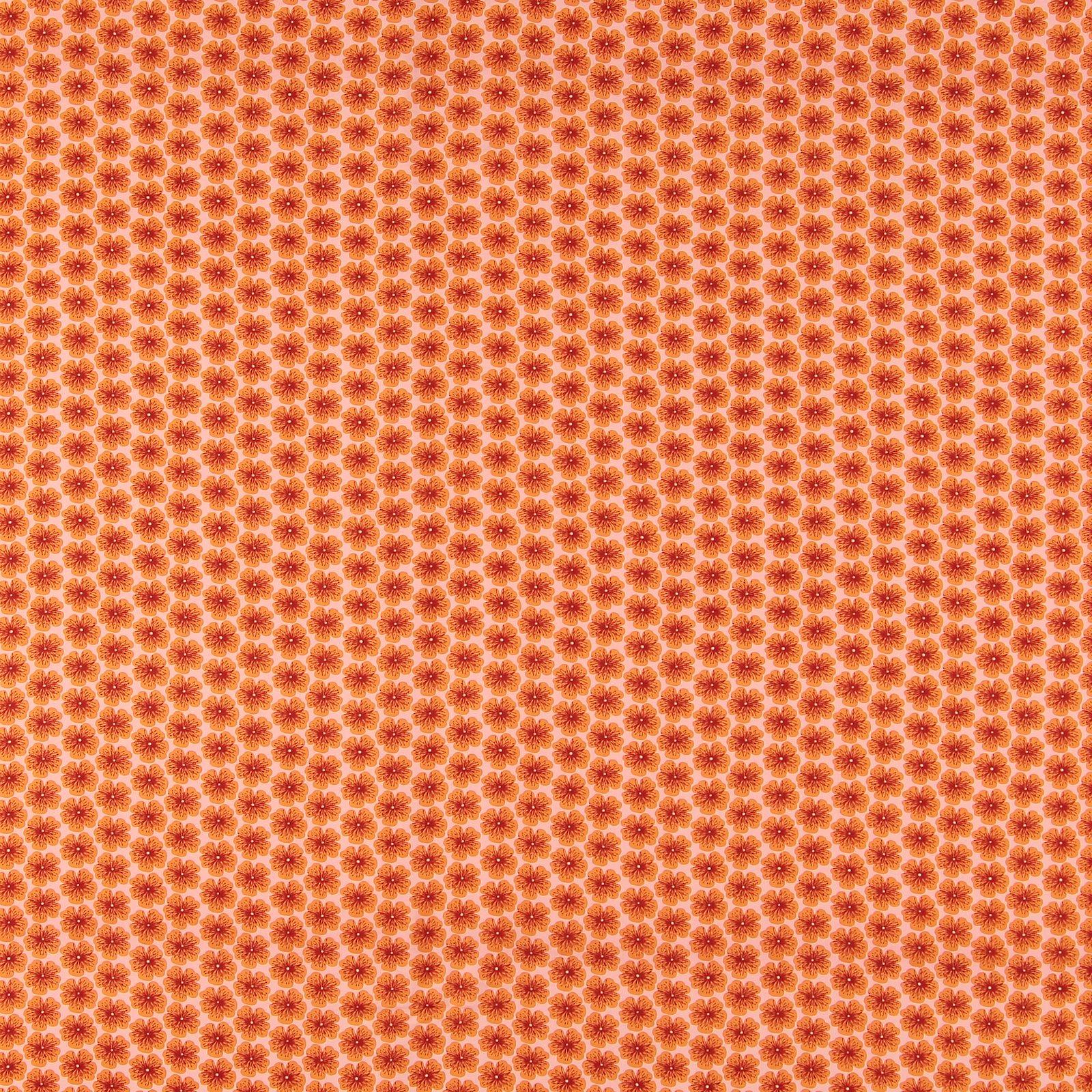Woven viscose peach w flower 710620_pack_sp
