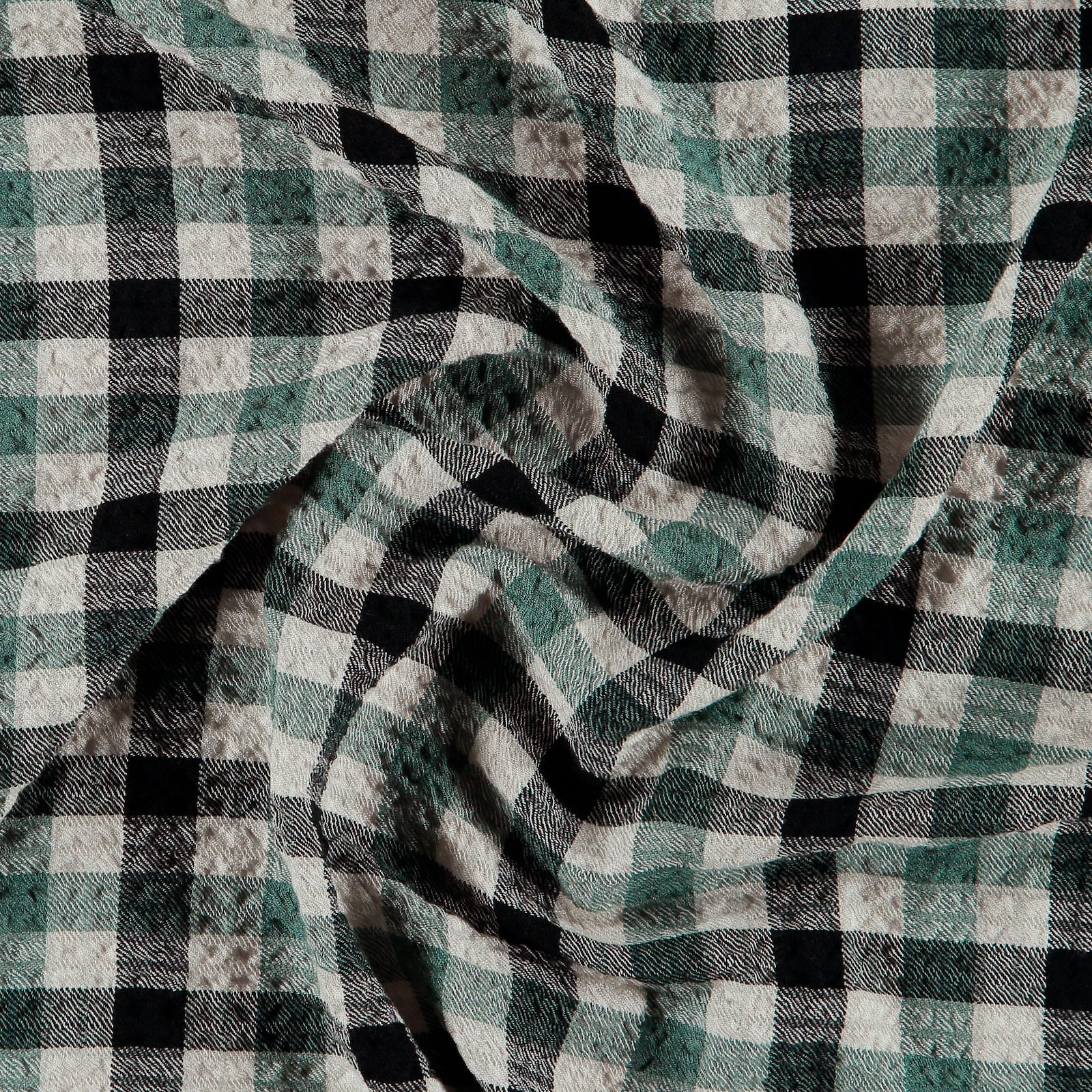 Woven viscose w structure green/offwhite 701096_pack