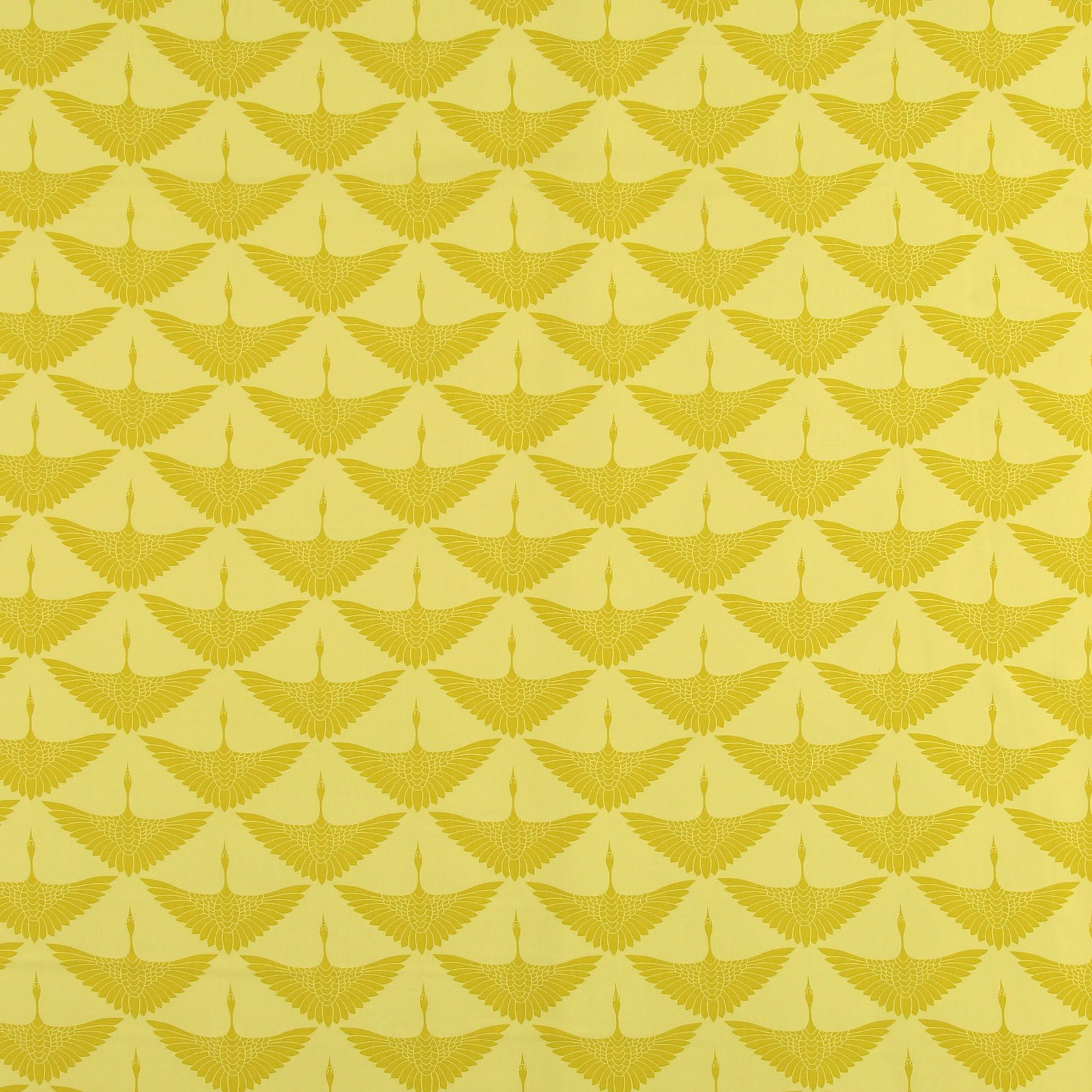 Woven viscose yellow w crane 710616_pack_sp