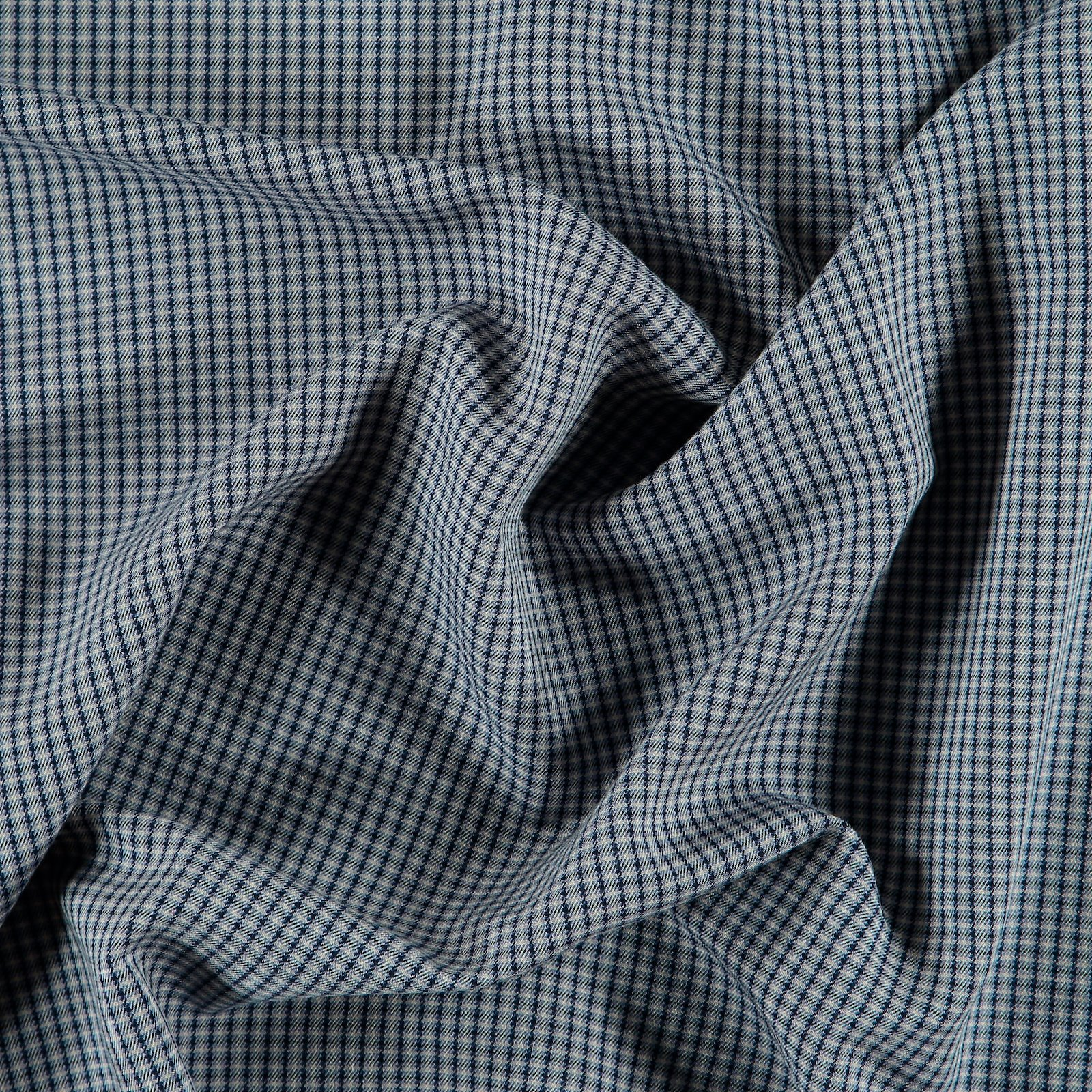 Woven wool blue petite YD check 300220_pack