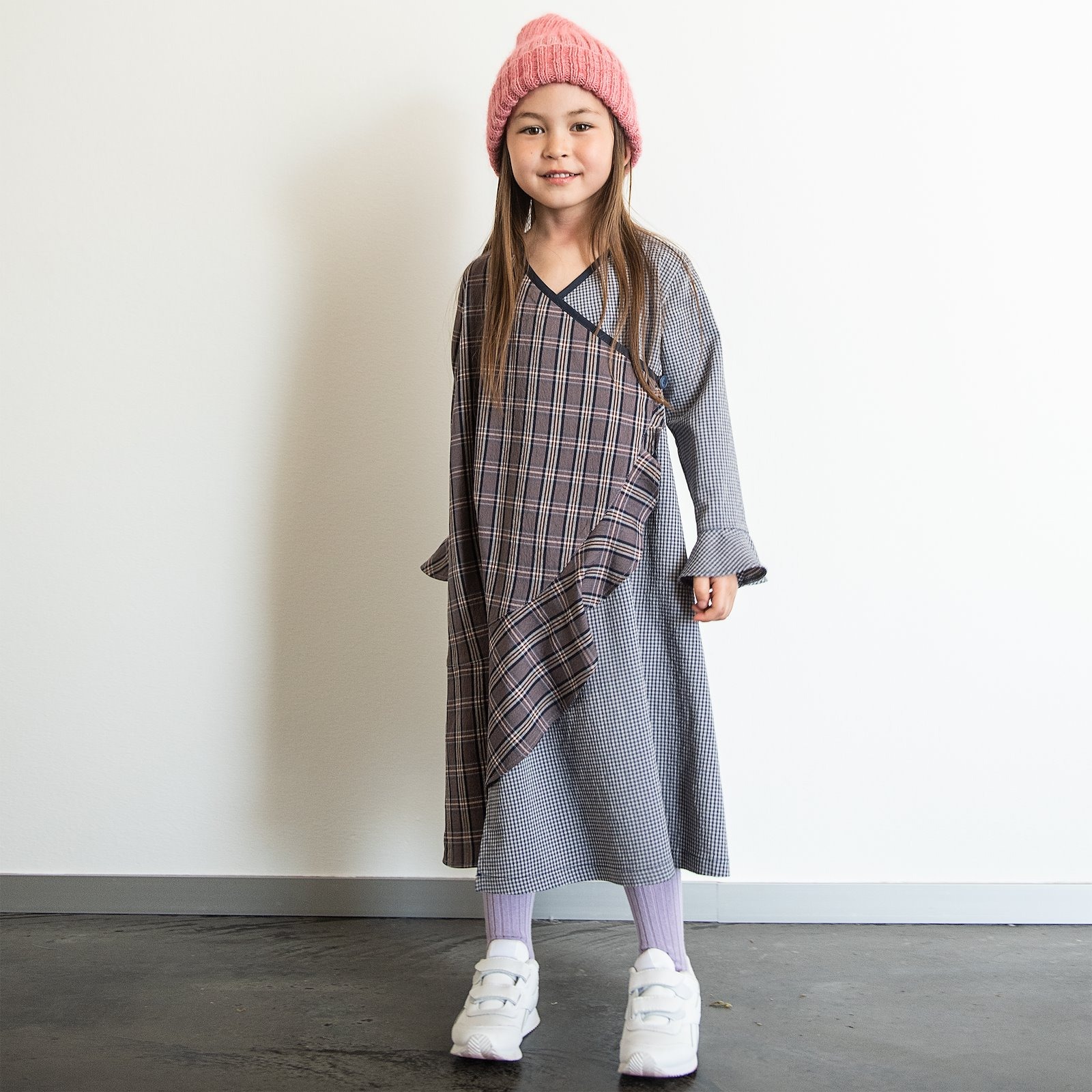 Woven wool blue petite YD check p63067_300219_300220_64082_33459_FRAYA3006_90054599_90054960_sskit