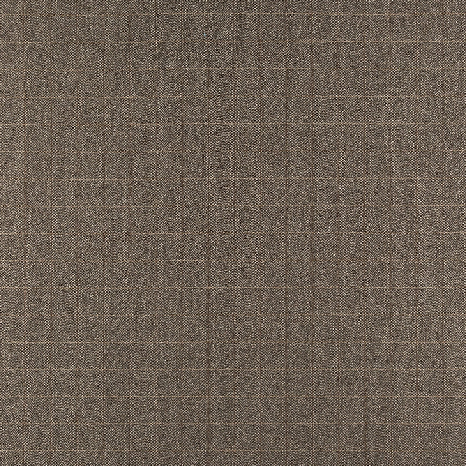 Woven wool with brown petite YD check 300221_pack_sp