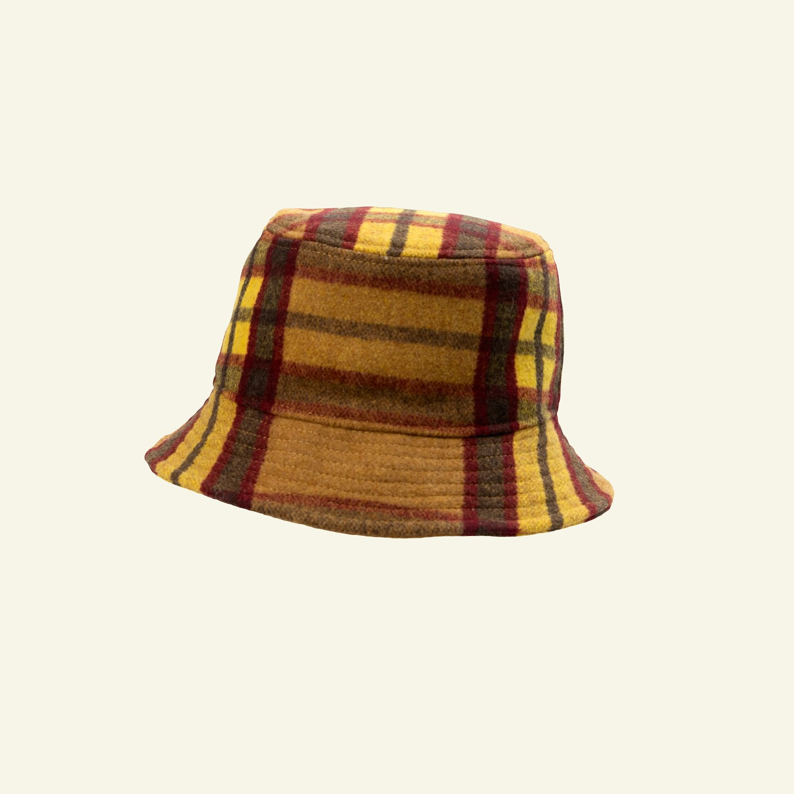 Woven wool with yellow and red YD check p90325_300223_sskit