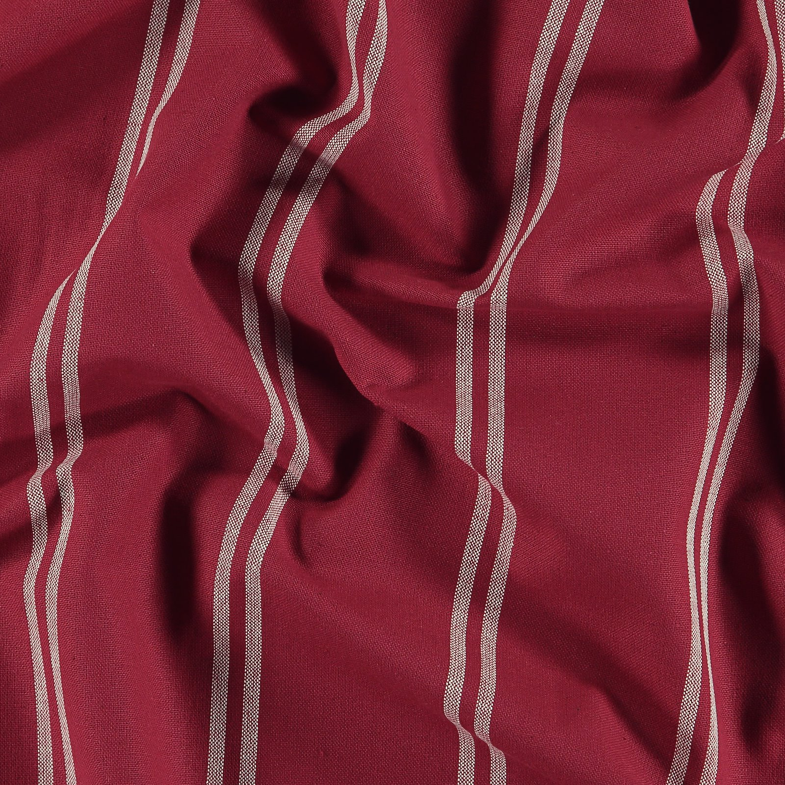 Woven yarn dyed red/off white stripe 816257_pack