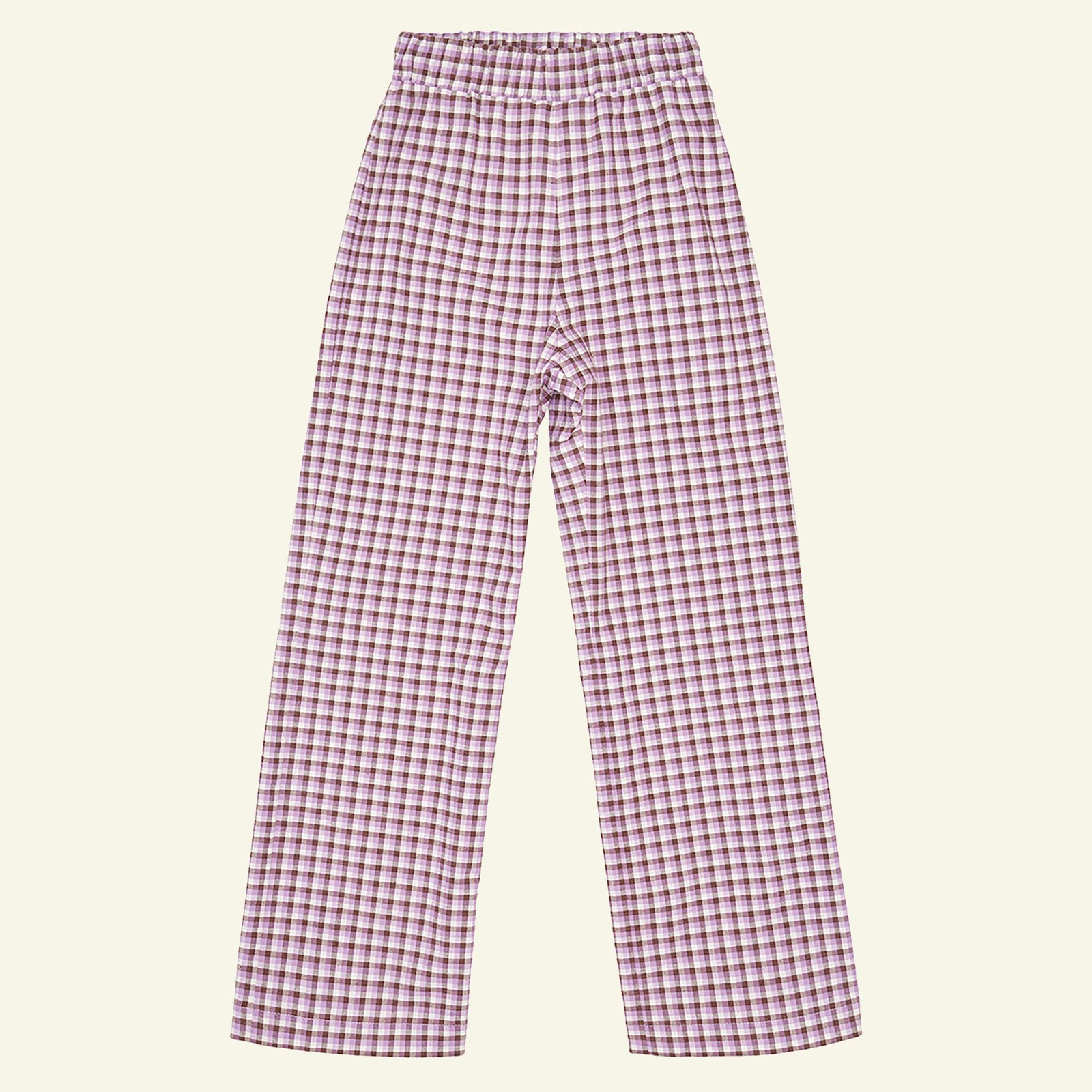 Woven YD check stretch purple/brown/sand p60034_501795_sskit