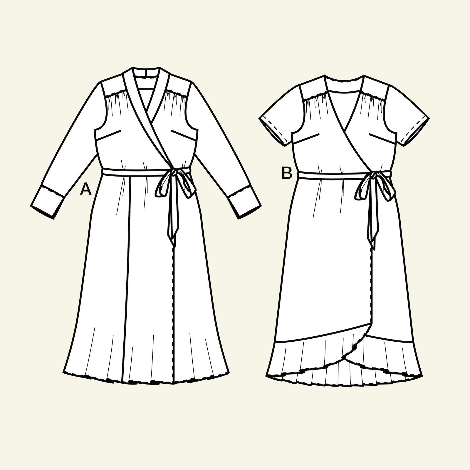Wrap around dress, 34/6 p23160_pack