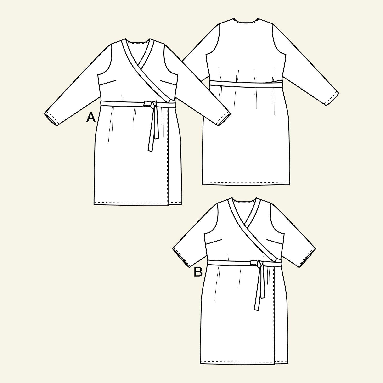 Wraparound dress, 48/20 p73017_pack