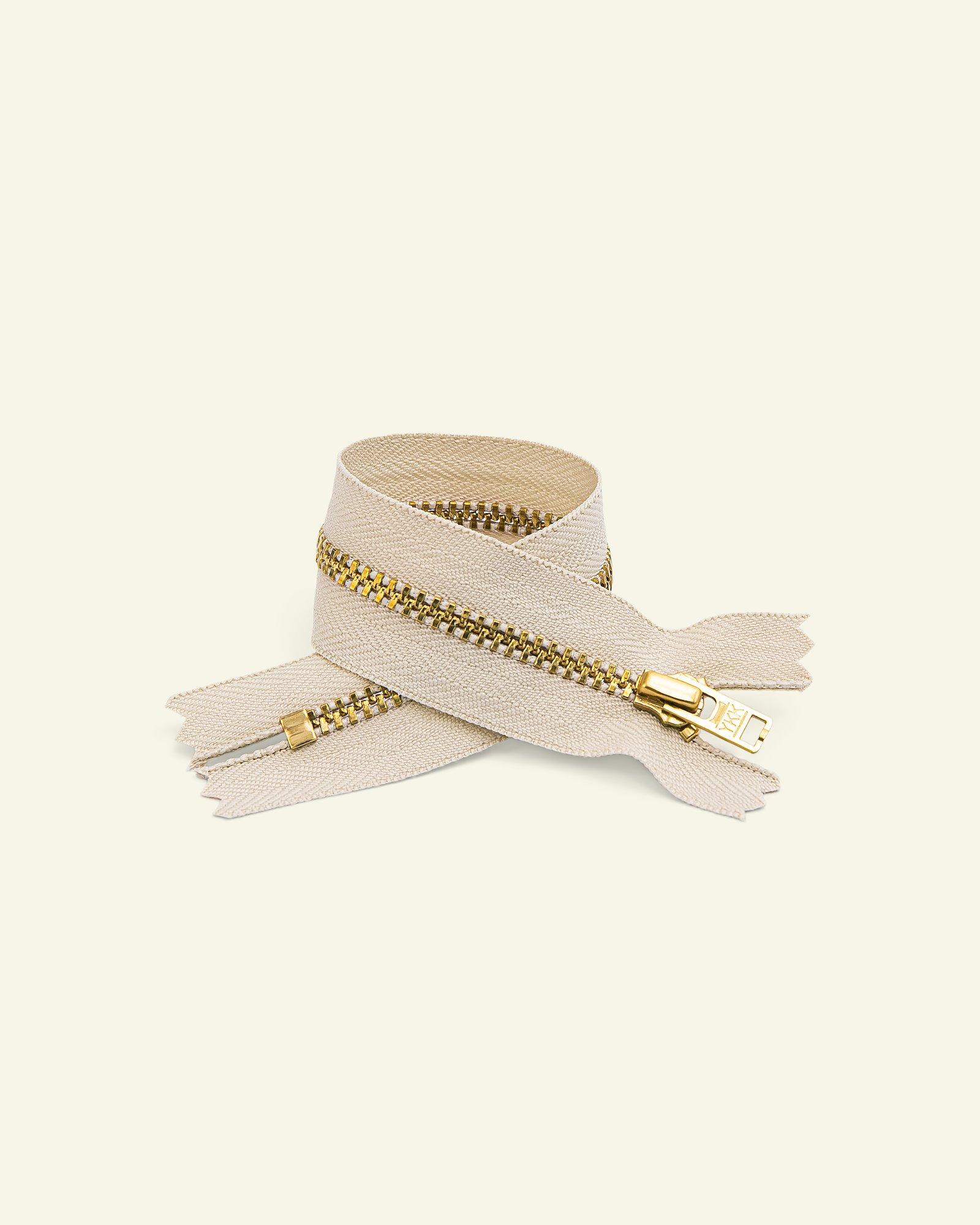 YKK zip 4mm metal trousers kit
