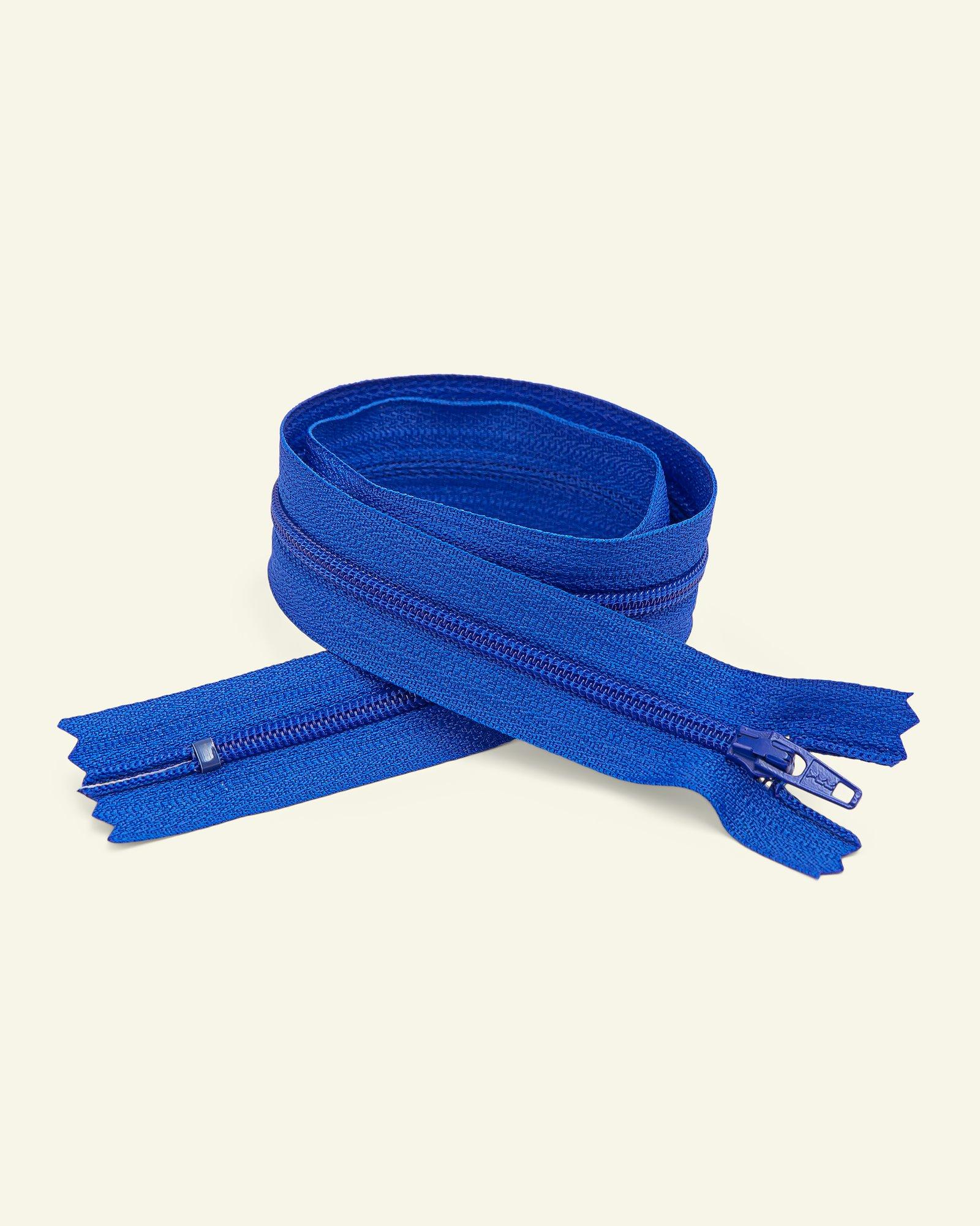 YKK zip 4mm coil closed end cobalt
