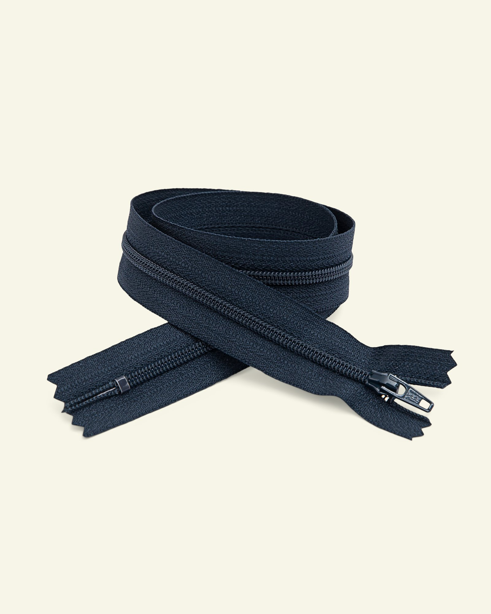 YKK zip 4mm coil closed end navy