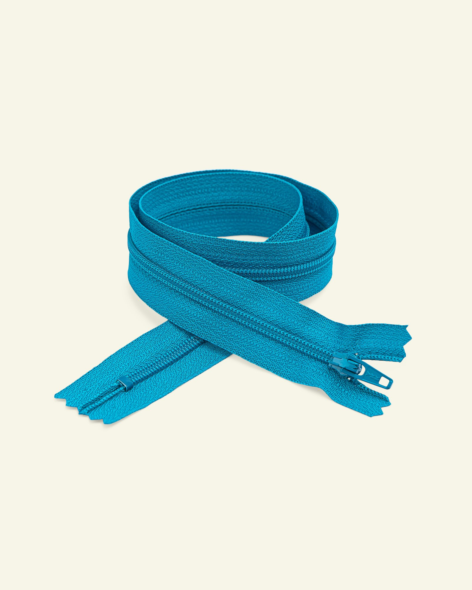 YKK zip 4mm coil closed end turquois
