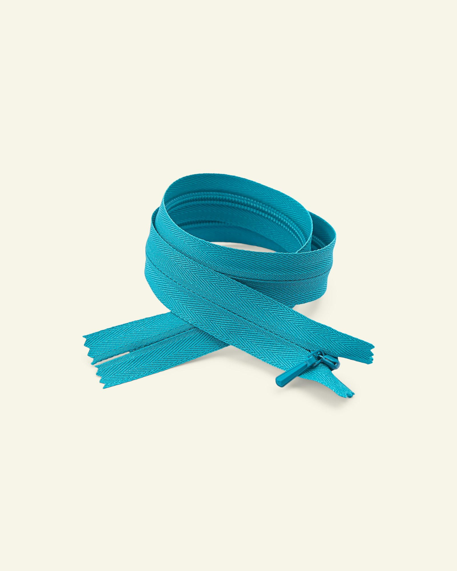 YKK zip 4mm invisible coil 35cm turquois