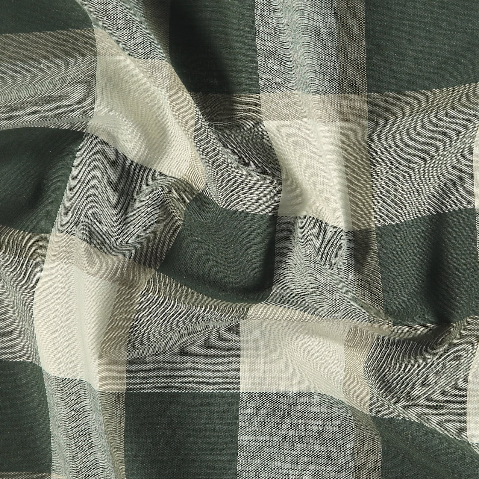 Yarn dyed check army/ khaki/offwhite 816262_pack