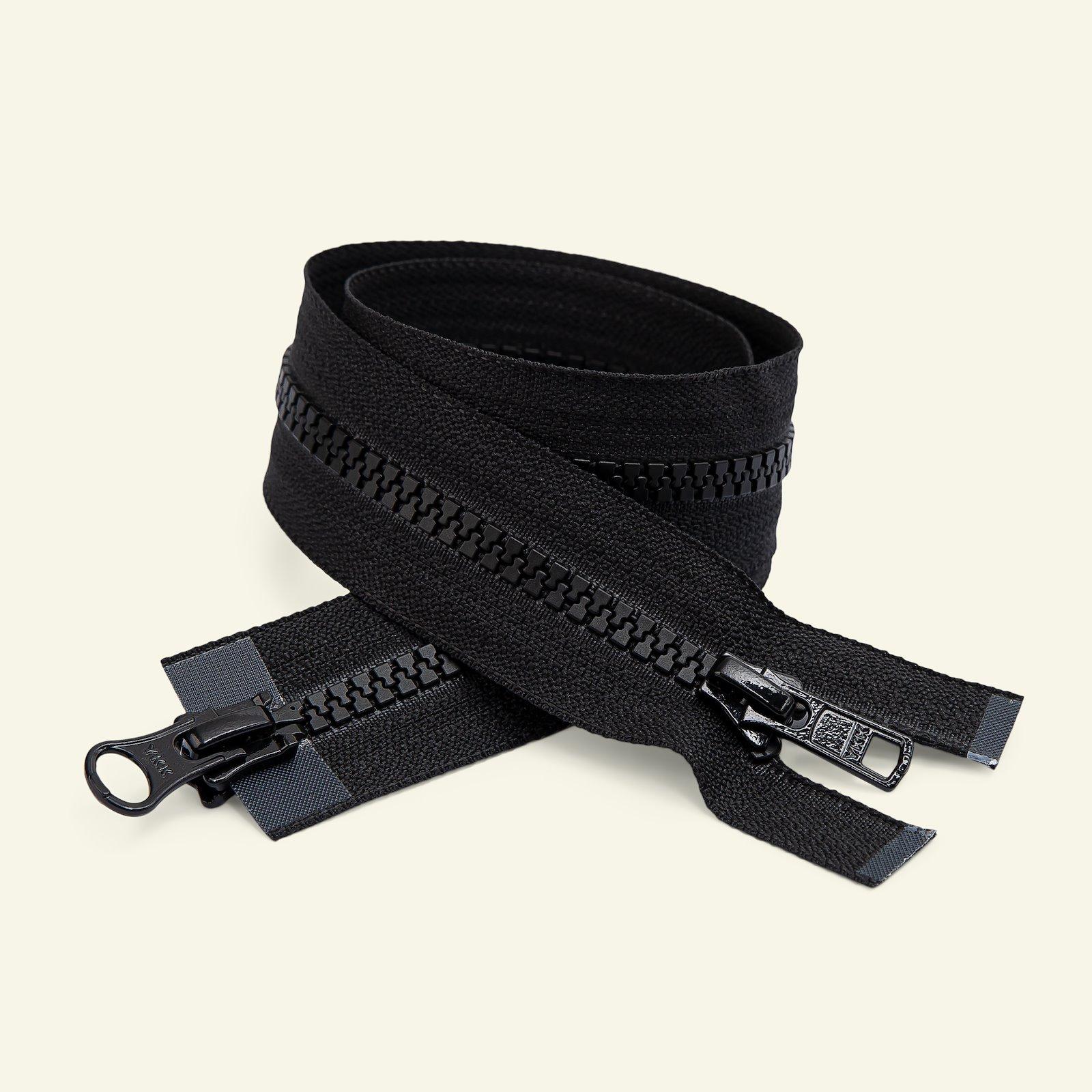 YKK zip 2-way open end 45cm black x50243_pack
