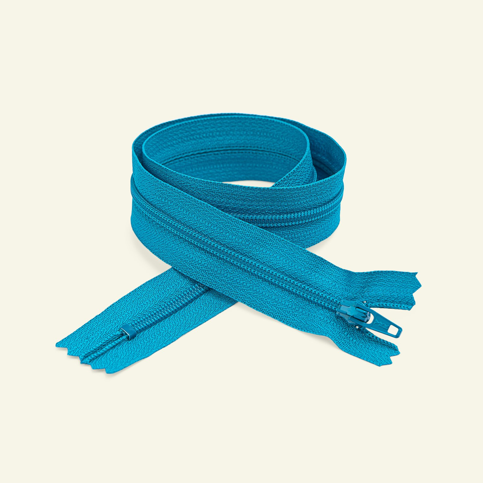 YKK zip 4mm closed end 10cm turquois x40524_pack
