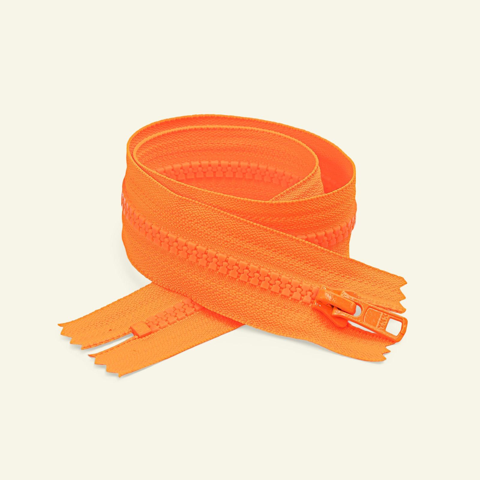 YKK zip 6mm closed end 20cm neon orange x50185_pack