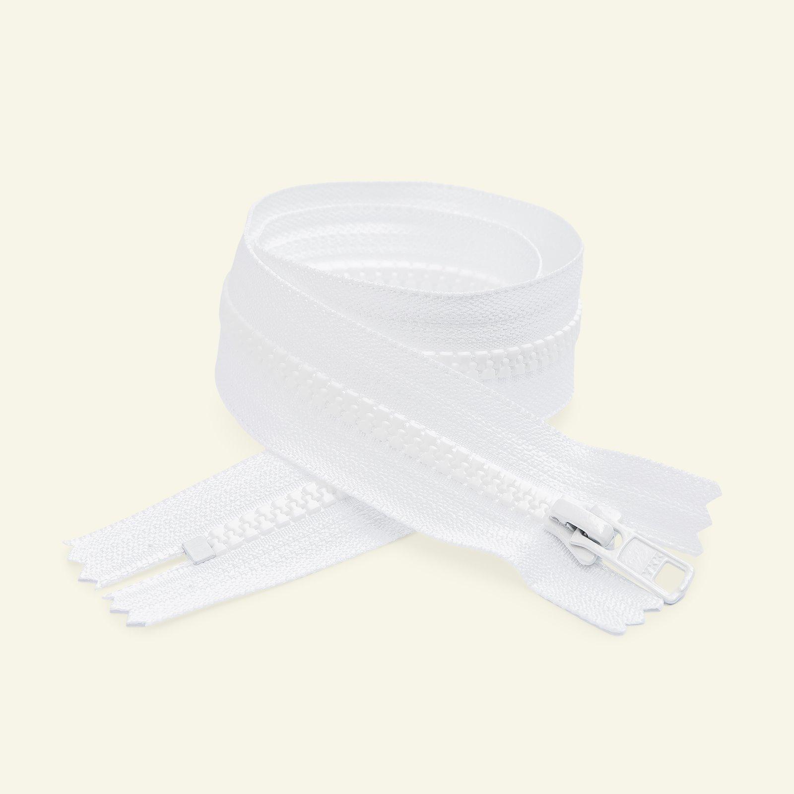 YKK zip 6mm closed end 35cm white x50101_pack