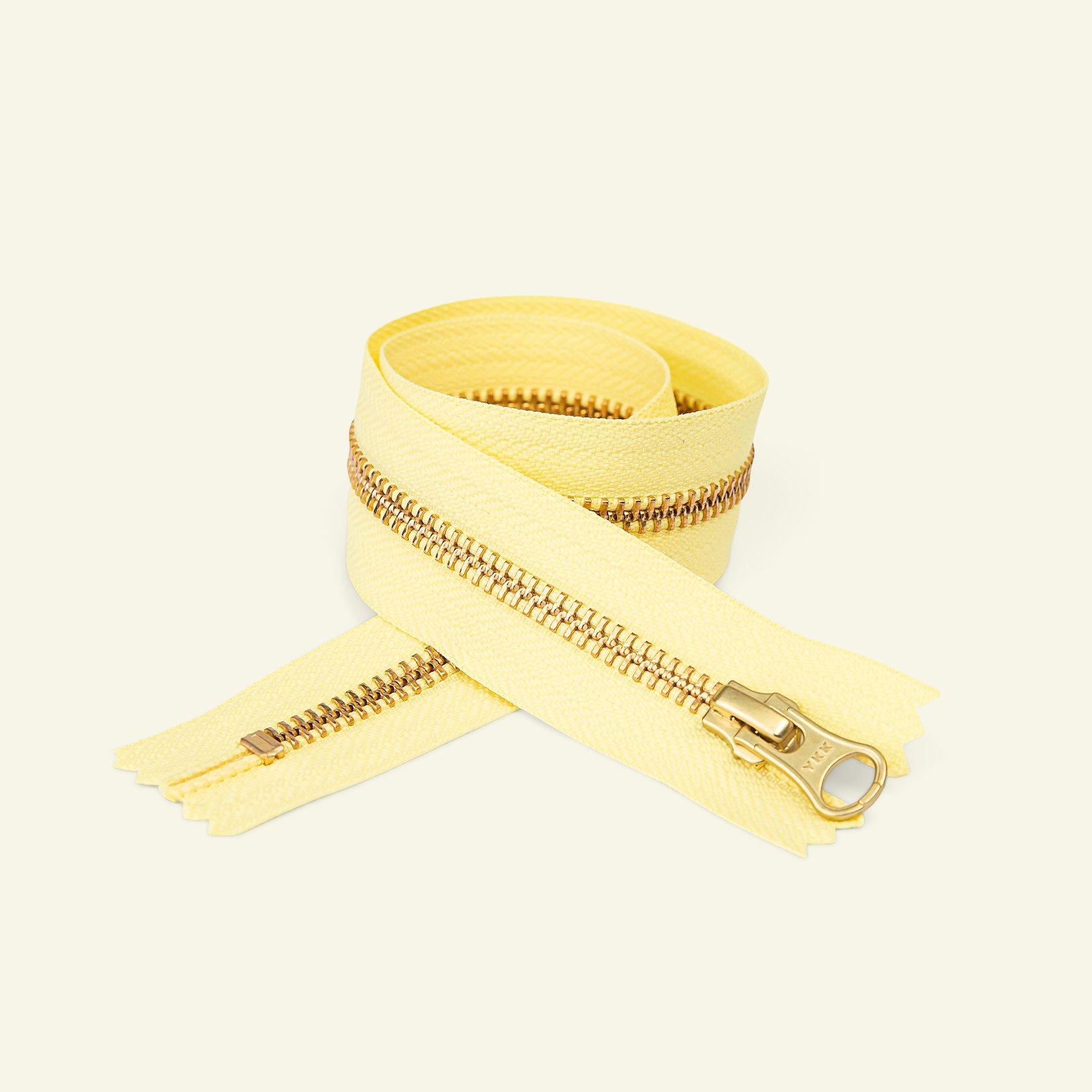 YKK zip 6mm closed end 40cm li. lemon/g. x59344_pack