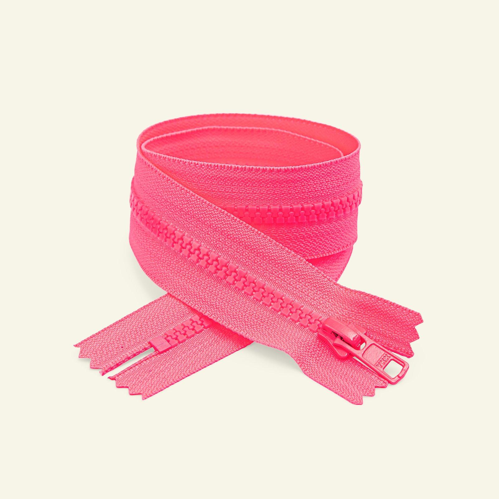 YKK zip 6mm closed end 50cm neon pink x50184_pack