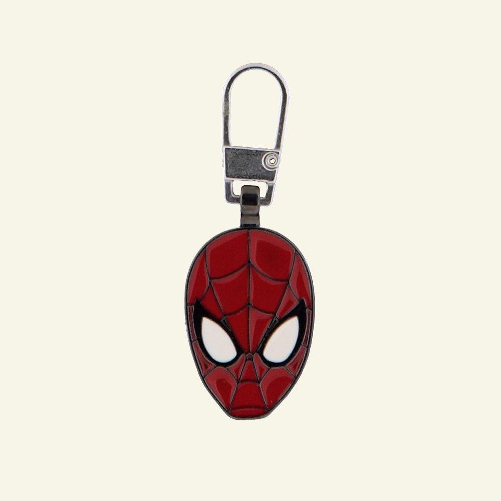 Zipper-pendant SPIDERMAN 22x25mm 1pc 96226_pack
